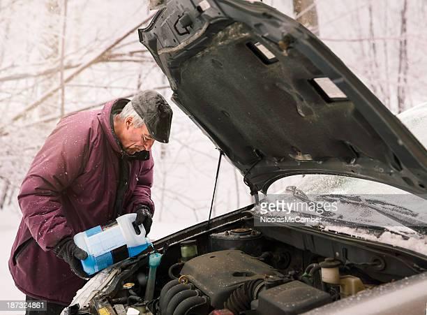 Winter car upkeeping: Antifreeze