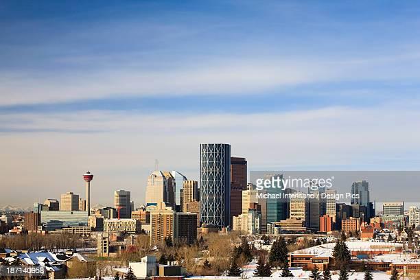 Winter Cityscape Of Calgary
