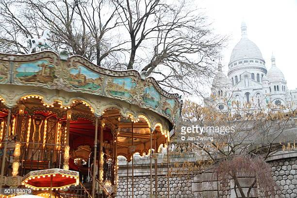 Winter Contrasts in Paris