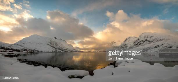 winter day in Erfjordbotn