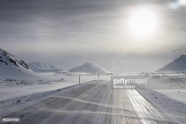 Winter driving, Iceland