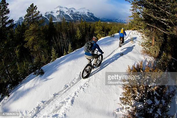Winter Fat Biking in Canada
