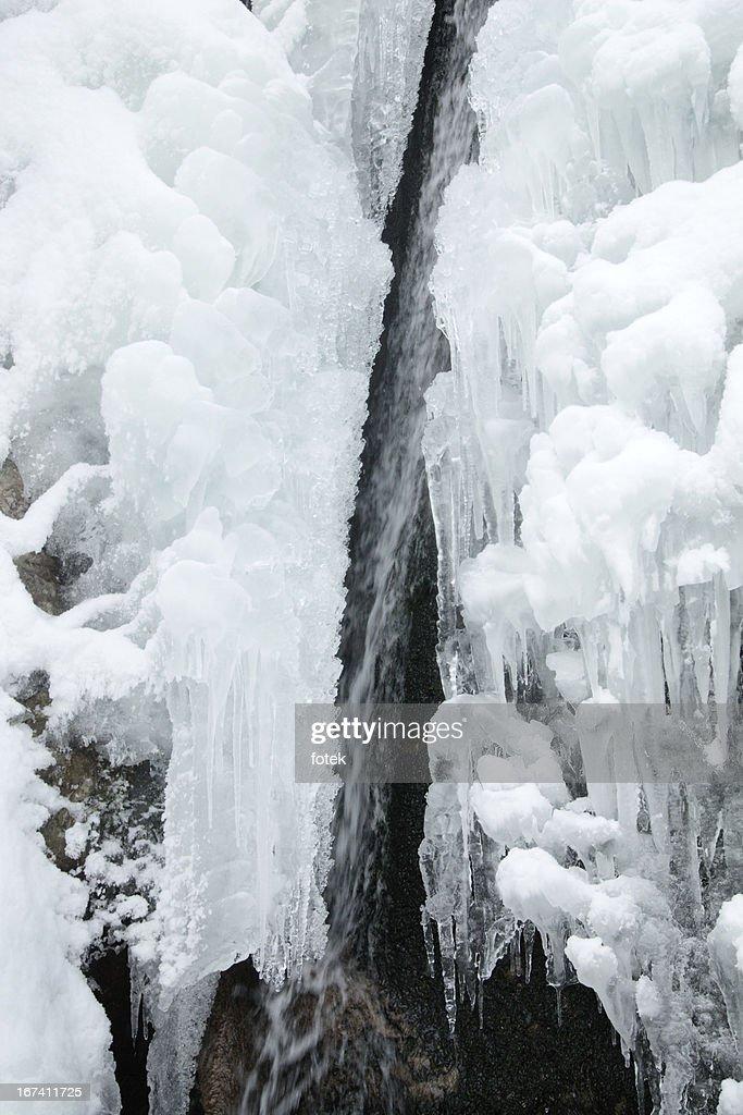 Winter flow : Stock Photo