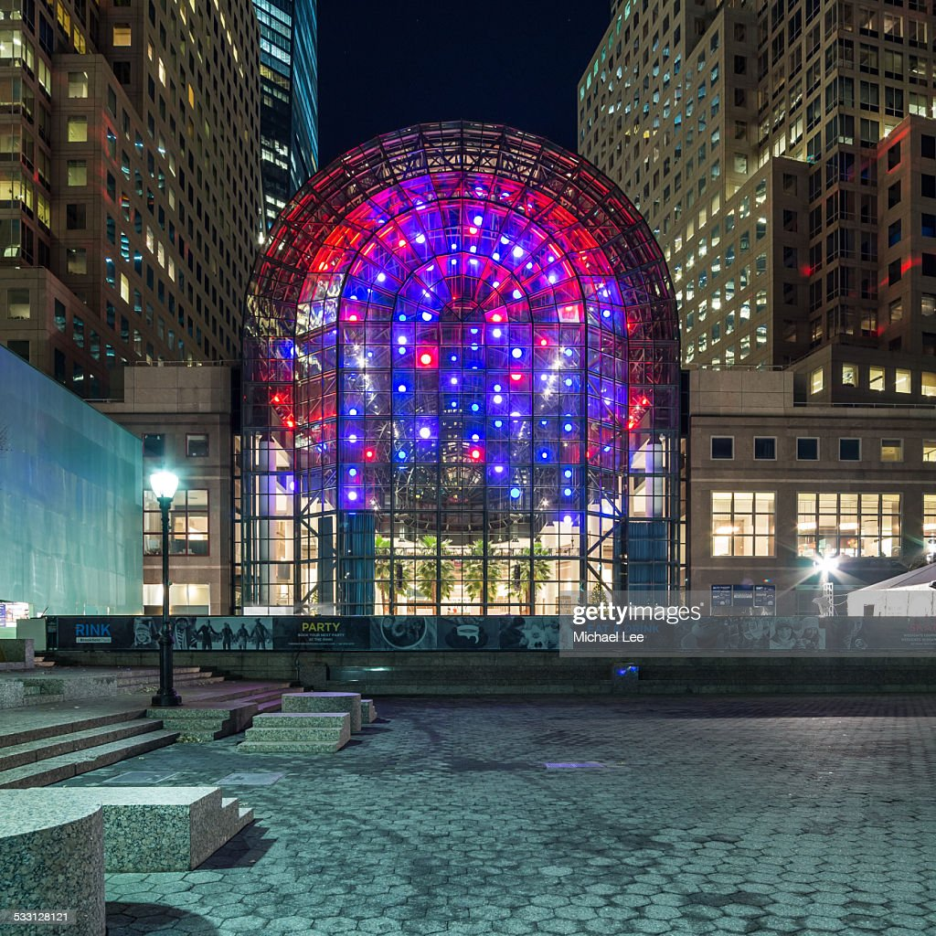 winter garden in new york stock photo getty images