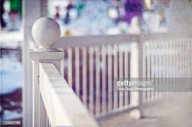 Winter Gazebo fence