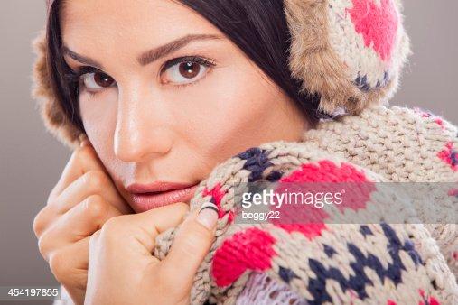 Winter girl : Stock Photo