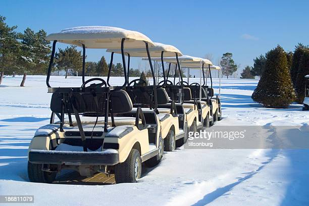 Prestige Golf Carts >> Winter Golf Stock Photos and Pictures | Getty Images