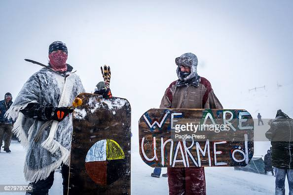 Winter has arrived in Standing Rock at the Oceti Sakowin Camp in North Dakota the day after the Army Corps of Engineers denied the easement needed to...