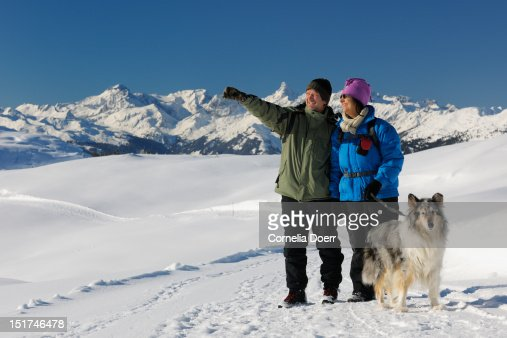Winter hiking on Sonnenkopf plateau : Photo