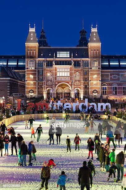Hiver à Amsterdam