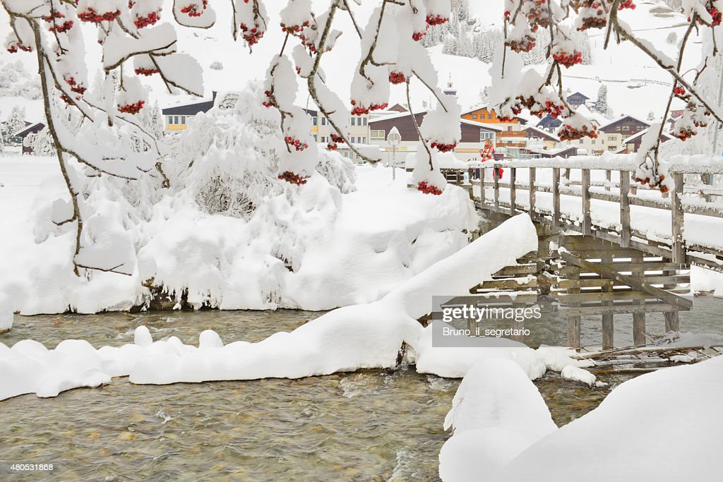 Winter in Austria : Stock Photo