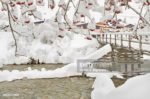 Winter in Österreich : Stock-Foto