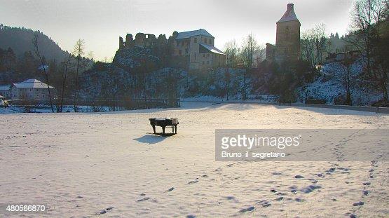 Winter in Austria : Stock Photo