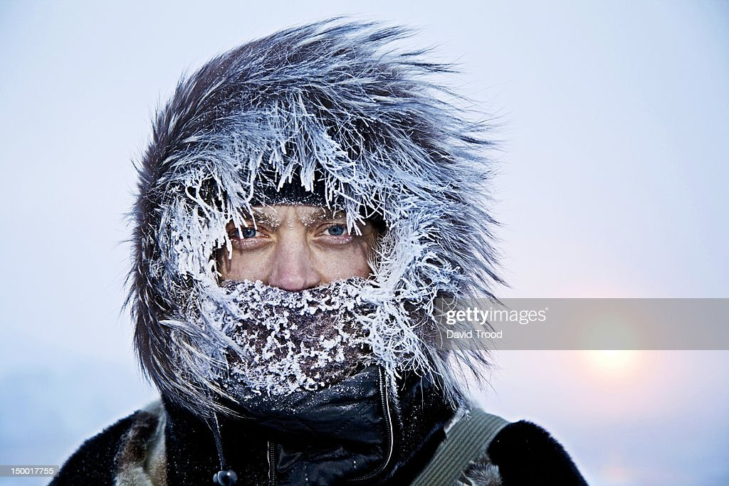 Winter in Greenland : Stock Photo