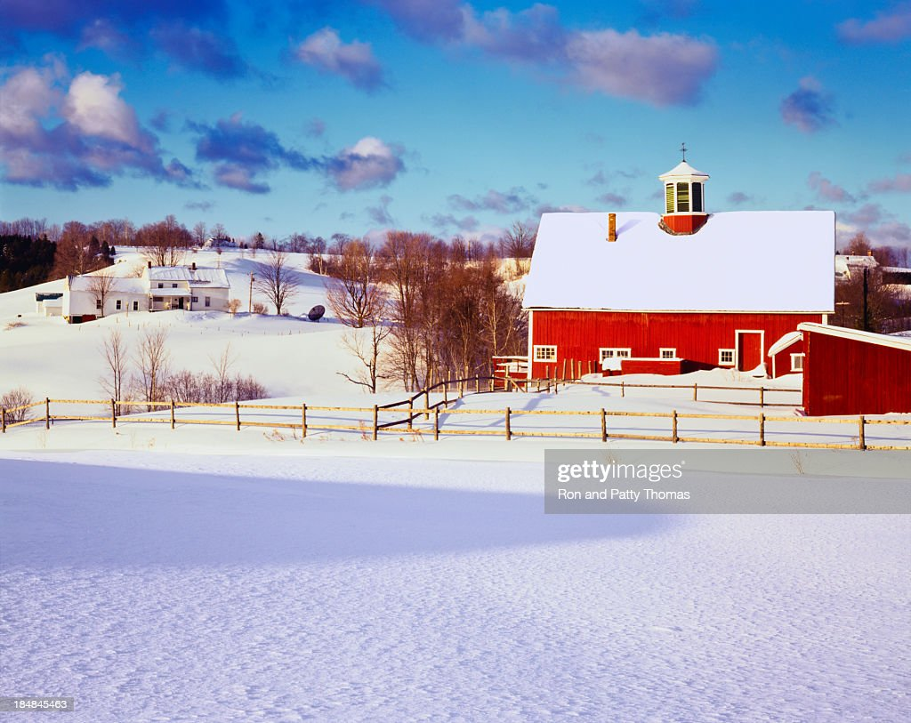 Winter in the Vermont Country side
