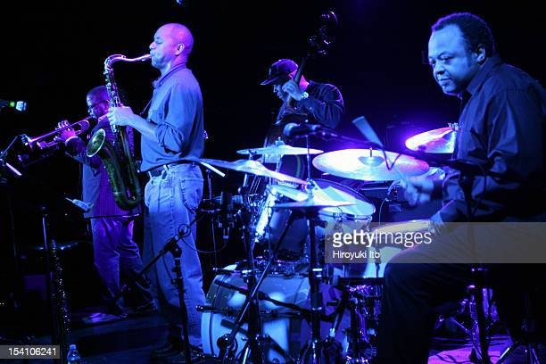 Winter Jazzfest in three different locations in West Village on Saturday night January 10 2009This imageTerence Blanchard Branford Marsalis Christian...