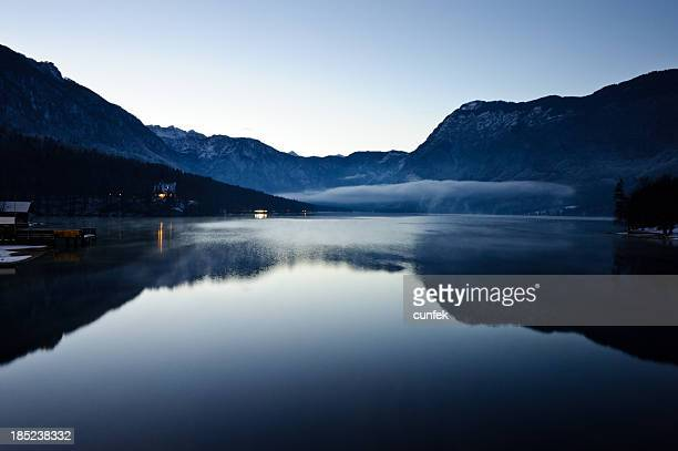 Inverno di Lago di Bohinj
