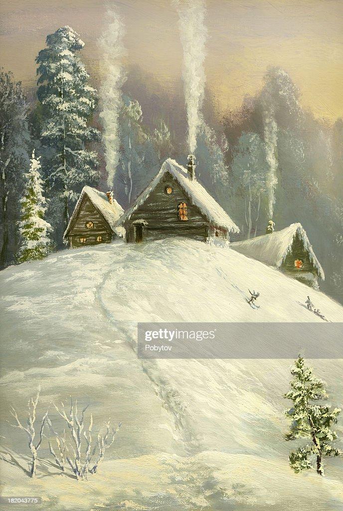 Winter land : Stock Photo