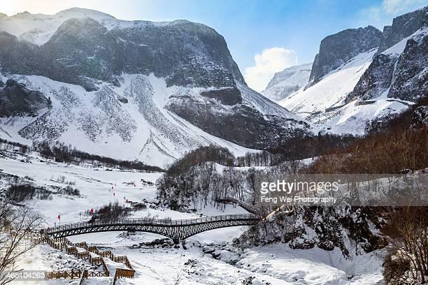 Winter Landscape, Changbai Mountains, China
