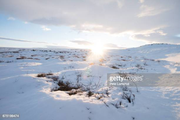 winter landscape iceland