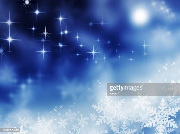 winter magic night