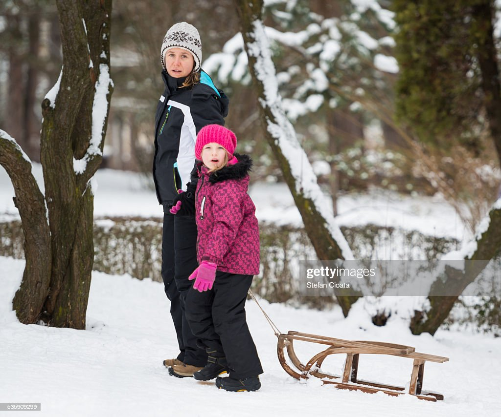 Winter moments : Stock Photo