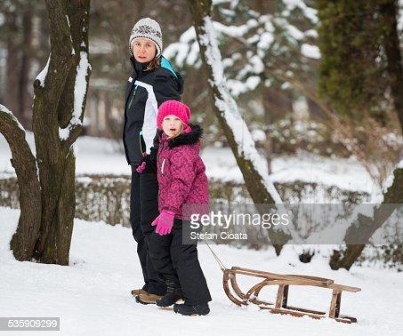 Winter moments : Stock Photo