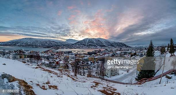 winter morning in Tromso