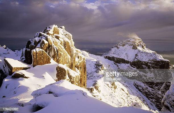 Winter, Mt Anne, Southwest NP, Tasmania, Australia