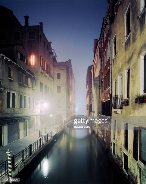 Winter night, Venice.