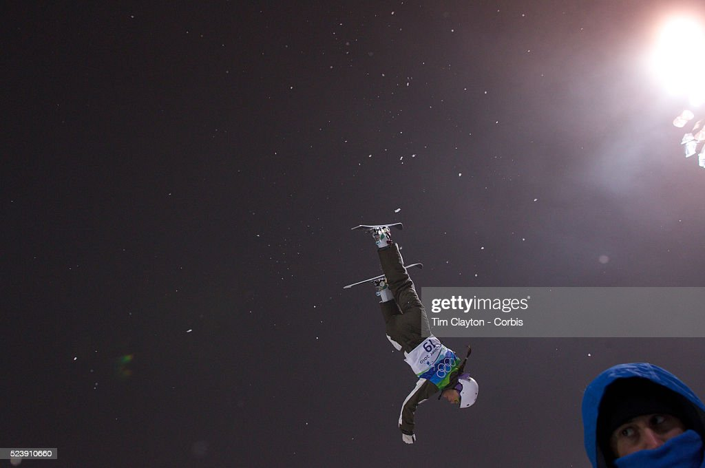 Winter Olympics Vancouver 2010 Elizabeth Gardner Australia in action during the Freestyle Skiing Ladies' Aerials Final at Cypress Mountain during the...