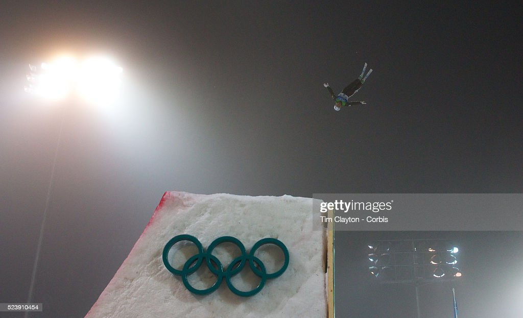 Winter Olympics Vancouver 2010 Lydia Lassila Australia during practice wins Gold during the Freestyle Skiing Ladies' Aerials Final at Cypress...
