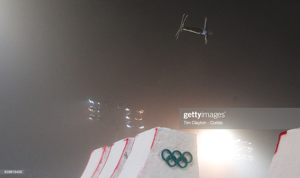 Winter Olympics Vancouver 2010 Lydia Lassila Australia wins Gold during the Freestyle Skiing Ladies' Aerials Final at Cypress Mountain during the...