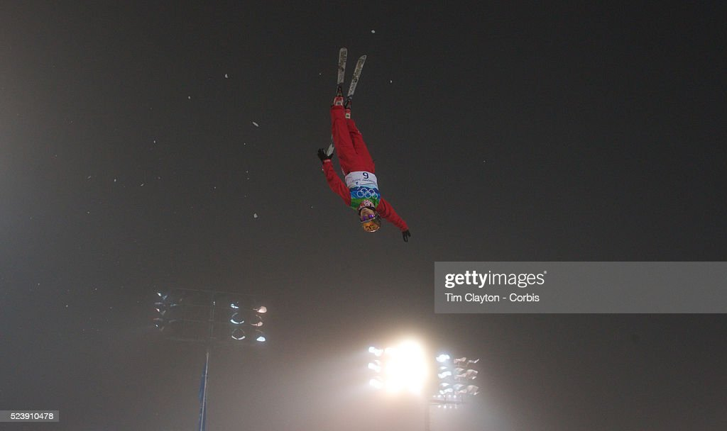 Winter Olympics Vancouver 2010 Shuang Cheng China in action during the Freestyle Skiing Ladies' Aerials Final at Cypress Mountain during the...
