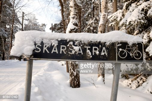 Winter on the Stockholm archipelago : Stock Photo