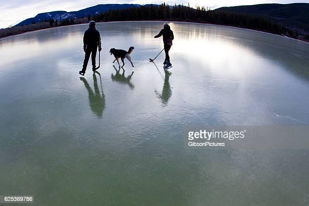 Winter Pond Skate