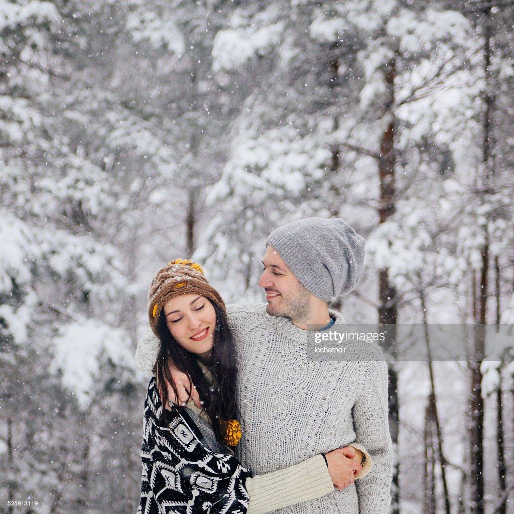 Retrato de invierno : Foto de stock