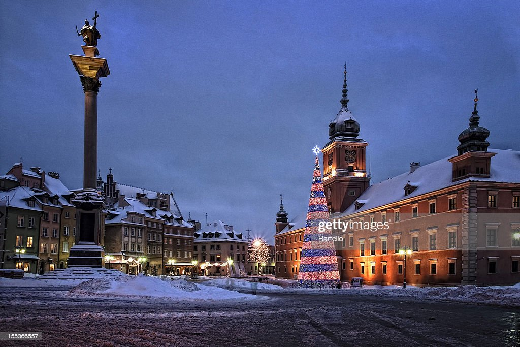 Winter royal castle : Stock Photo