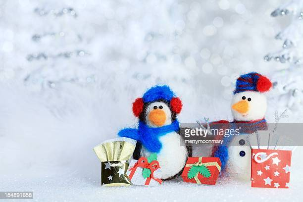 Winter shopping-Freunde