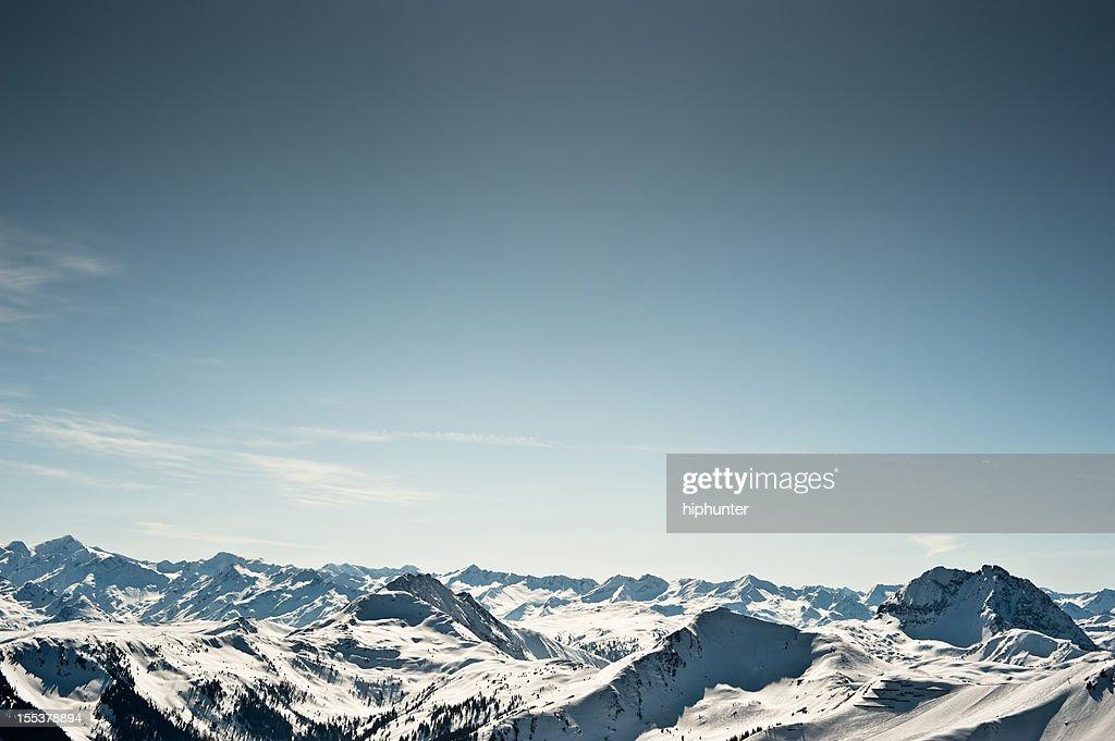 Winter Sport Ski Snowboard Piste Kitzbühel Mountain Panorama
