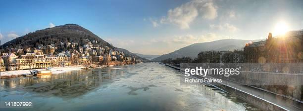 Winter view of  Heidelberg
