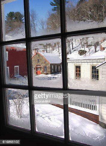 winter window : Stock Photo