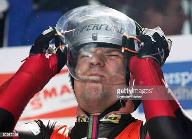 Wintersport / Rodeln WC 04/05 Oberhof Einzel Herren Rainer MARGREITER / AUT 020105