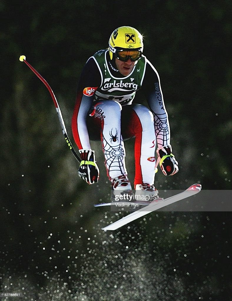 Wintersport/Ski Alpin WM 2005 Bormio 310105Abfahrt Training/MaennerHermann MAIER/AUT