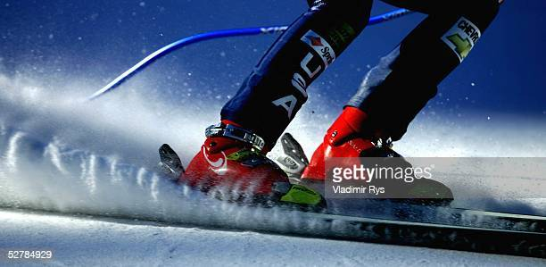 Wintersport/Ski Alpin WM 2005 Santa Caterina 300105Super G/FrauenSpezial