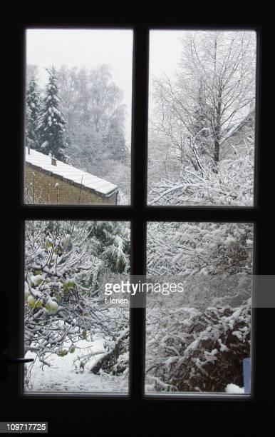 Hiver-fenêtre