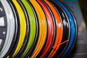 Colorful filament ABS wire plastic for 3d printers