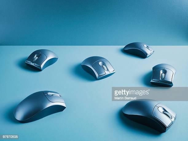 Wireless computer mice