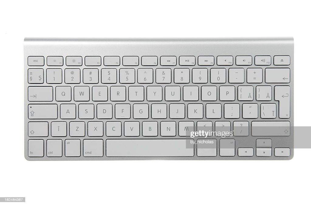 Wireless keyboard : Stock Photo