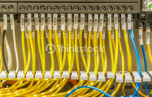 Cool Wiring In Control Cabinet Electrical Stock Photo Thinkstock Wiring 101 Cranwise Assnl